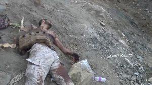 صور : شاهد عشرات القتلى من الجيش السعودي ومحرقة كبرى لآلياتهم العسكرية في جيزان