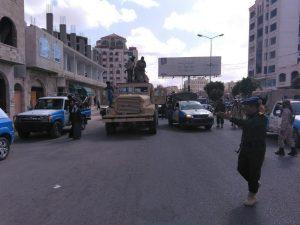 شاهد بالصور تفاصيل ما حدث قبل ساعات من الآن وسط العاصمة صنعاء